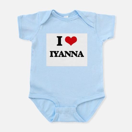 I Love Iyanna Body Suit