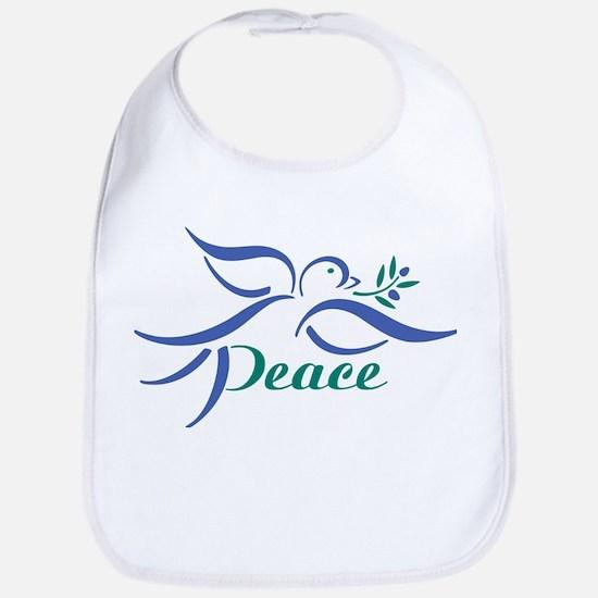 Dove Peace Bib