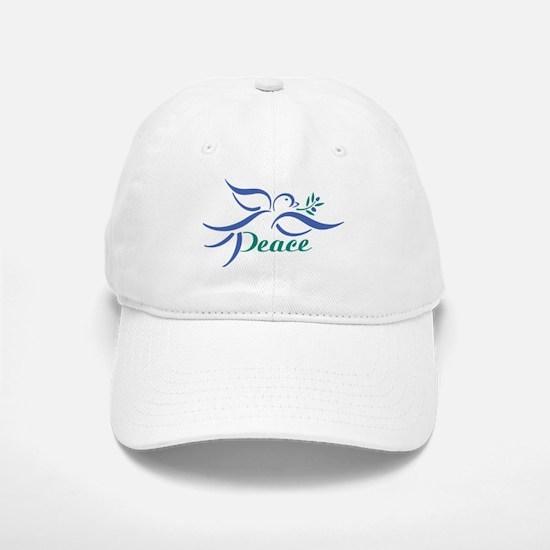 Dove Peace Baseball Baseball Cap