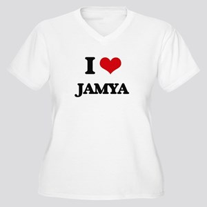 I Love Jamya Plus Size T-Shirt