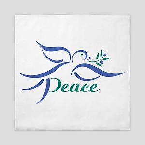 Dove Peace Queen Duvet