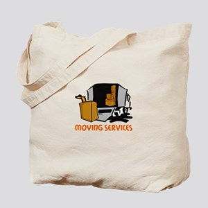 MOVING SERVICES Tote Bag