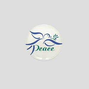 Dove Peace Mini Button