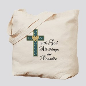 ALL THINGS POSSIBLE Tote Bag