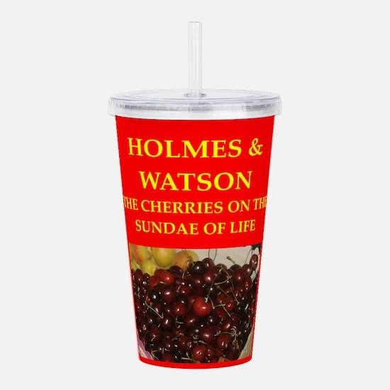 holmes and watson Acrylic Double-wall Tumbler