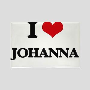 I Love Johanna Magnets