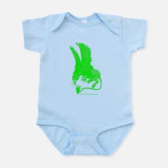 Hippogriff (Green) Infant Bodysuit