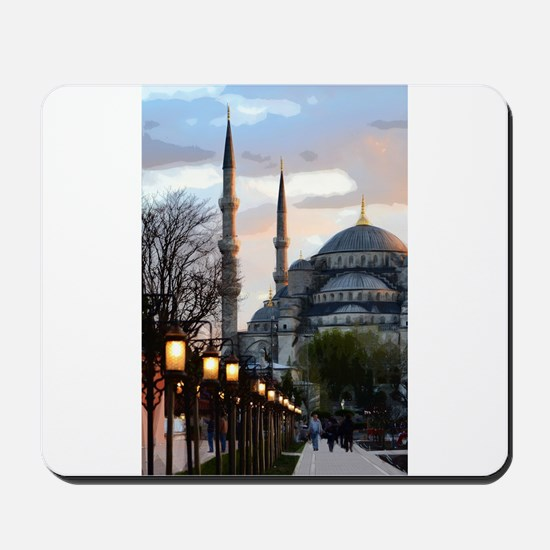 Mosque in Istanbul Mousepad