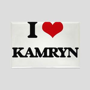 I Love Kamryn Magnets