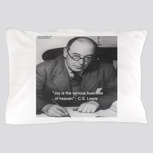 Cs Lewis On Joy Pillow Case