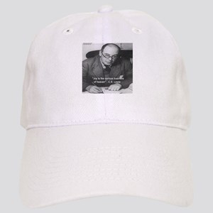 CS Lewis On Joy Baseball Cap