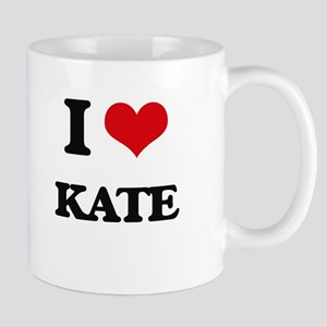 I Love Kate Mugs