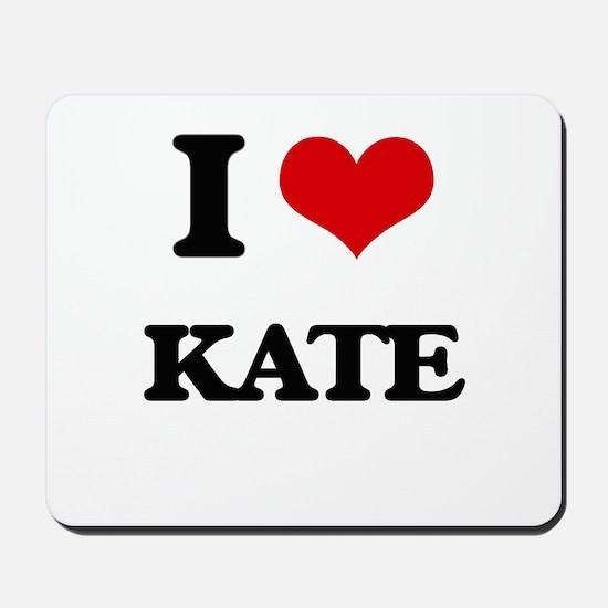 I Love Kate Mousepad