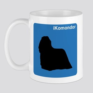 Komondor (clean blue) Mug