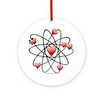 Atomic Valentine Ornament (Round)