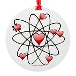 Atomic Valentine Ornament