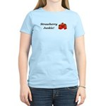 Strawberry Junkie Women's Light T-Shirt