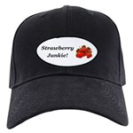 Strawberry Junkie Black Cap