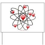 Atomic Valentine Yard Sign