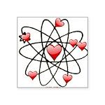 Atomic Valentine Sticker