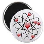 Atomic Valentine Magnets