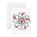 Atomic Valentine Greeting Cards