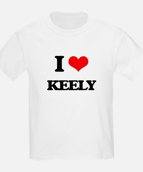 I Love Keely T-Shirt