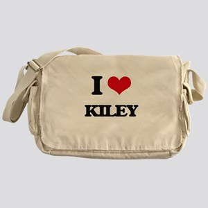 I Love Kiley Messenger Bag
