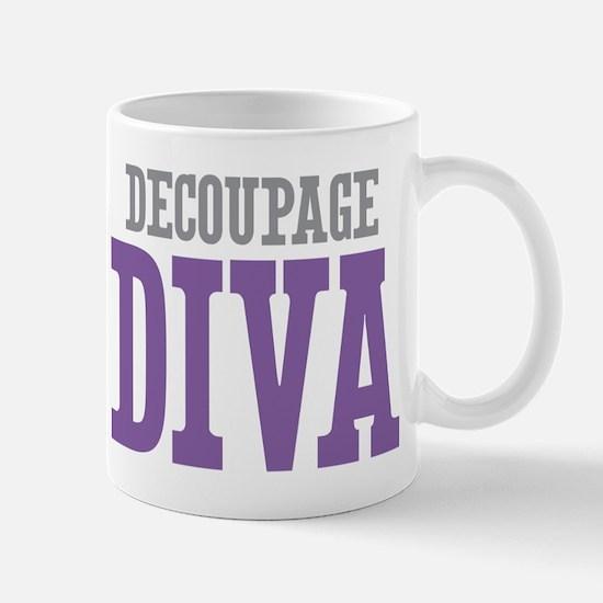 Decoupage DIVA Mug