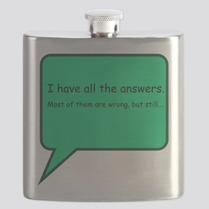 I Have All The Answers Flask