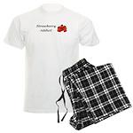 Strawberry Addict Men's Light Pajamas