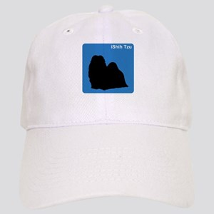 Shih Tzu (clean blue) Cap