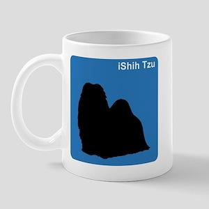Shih Tzu (clean blue) Mug