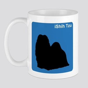 Shih Tzu (clean blue) Mug