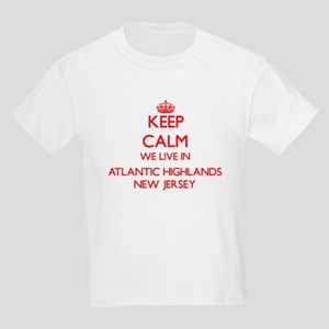 Keep calm we live in Atlantic Highlands Ne T-Shirt