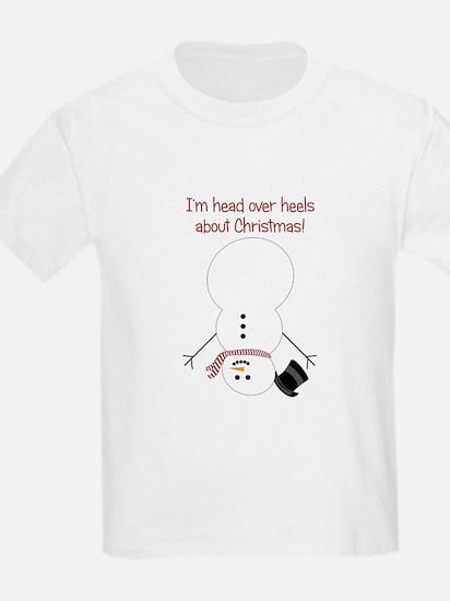 Upside Down Snowman T-Shirt