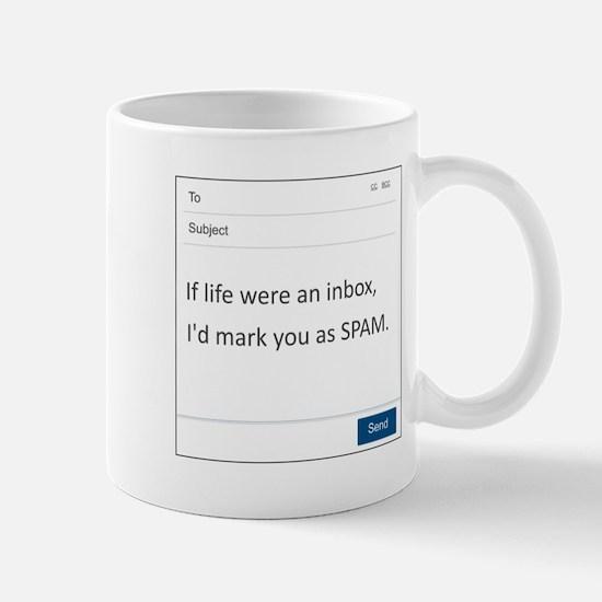 If Life Were An Inbox Small Mug