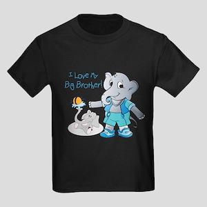 Elephants, I Love My Big Brother! T-Shirt