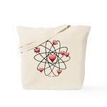 Atomic Valentine Tote Bag