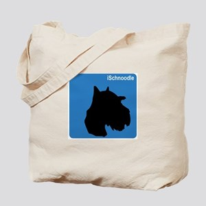 Schnoodle (clean blue) Tote Bag