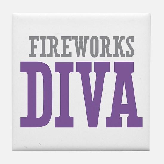 Fireworks DIVA Tile Coaster