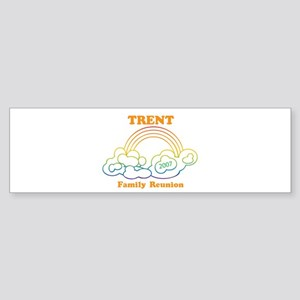 TRENT reunion (rainbow) Bumper Sticker