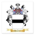 Huseler Square Car Magnet 3