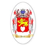 Hurtt Sticker (Oval 50 pk)
