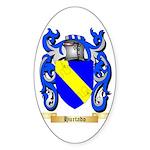 Hurtado Sticker (Oval 50 pk)