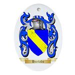 Hurtado Ornament (Oval)
