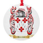 Hurston Round Ornament