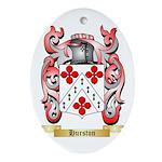 Hurston Ornament (Oval)