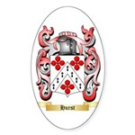 Hurst Sticker (Oval)