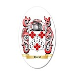 Hurst 35x21 Oval Wall Decal